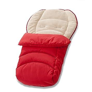 Amazon.com: Hauck 2 Way Reversible Fleece cosytoe Rojo: Baby