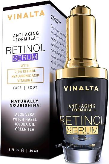 Retinol Skin Repair Serum 2.5% - 2 oz Yes To Cucumbers Sensitive Skin Soothing Eye Gel, 0.5 Oz (Pack of 6) + 3 Count Eyebrow Trimmer