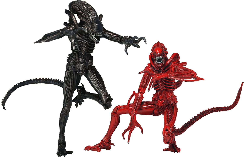 NECA 51395 - Pack 2 Figuras Alien Genocide (18 cm): Amazon.es ...