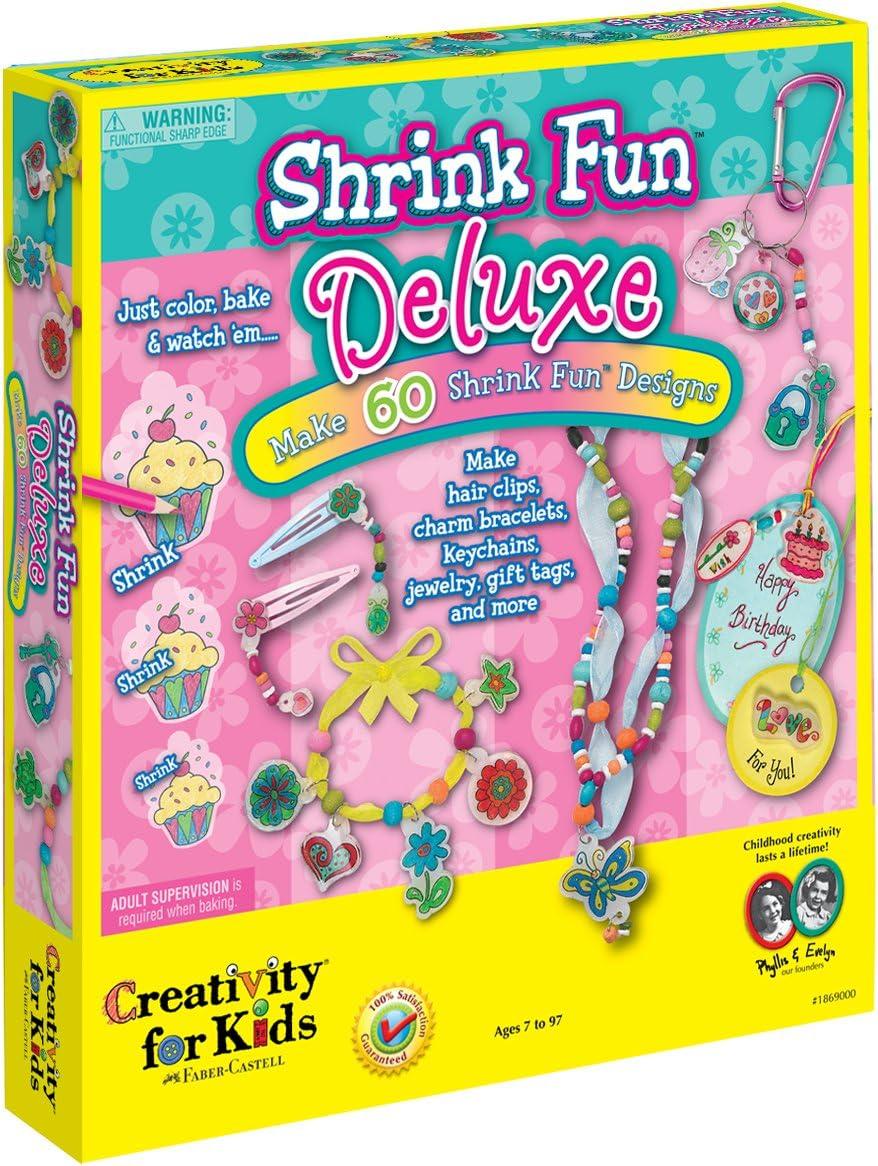Creativity for Kids Shrink Fun Deluxe - Shrink Plastic Deluxe Activity Kit