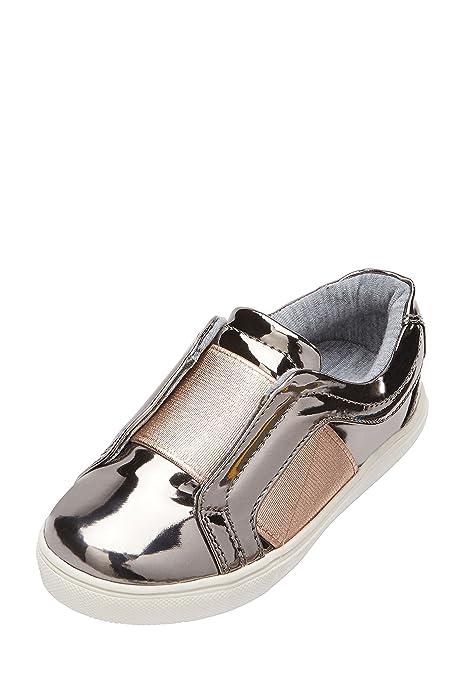 Next Niñas Zapatillas De Skate Elásticas (Niña Pequeña) Estaño EU 21.5: Amazon.es: Zapatos y complementos