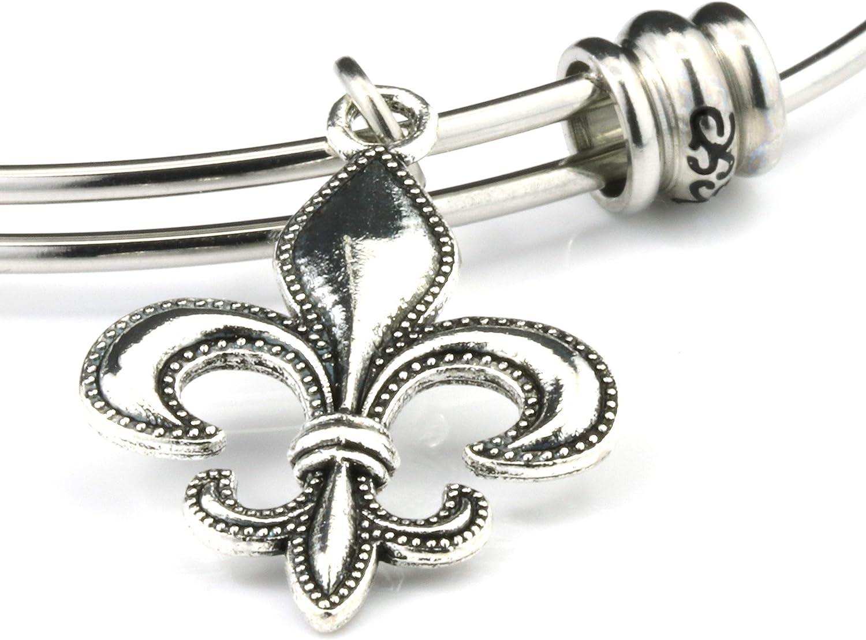 New Orleans Jewelry New Orleans Charm Bracelet,New Orleans Bracelet Louisiana Jewelry Louisiana Bracelet Fleur de lis Jewlery