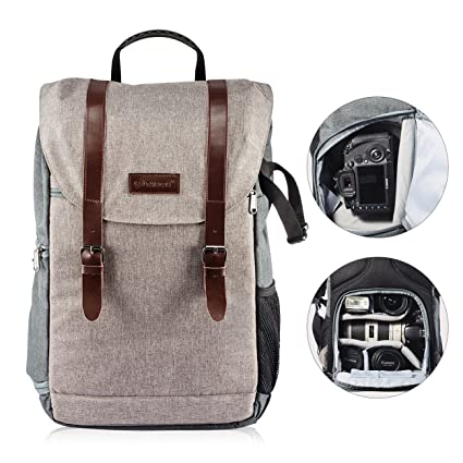 TARION RB-01 Camera Backpack for DSLR IPAD Laptop with Rain Cover Camera Bag  Multi