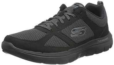 Skechers Flex Advantage 2.0 Men Sneaker Air Cooled Memory Foam BBK