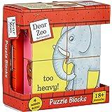 Milly & Flynn - Dear Zoo - Puzzle Blocks - Wooden Toy