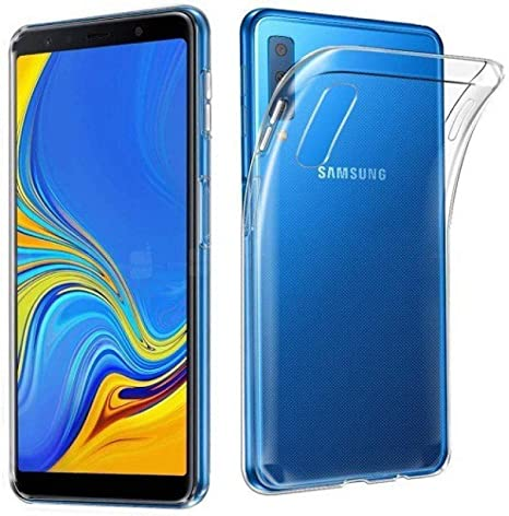 Kolorfame Transparent Back Cover for Samsung Galaxy A7  2018