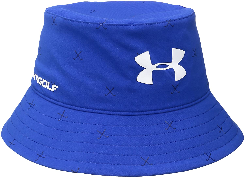 Under Armour Boys 'ゴルフバケットハット One Size Ultra Blue/White B01GFLC9GU