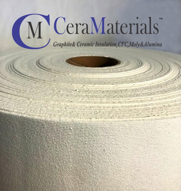 CeraMaterials Kiln Shelf Liner(Ceramic Fiber Paper)(Standard Grade)(1/8