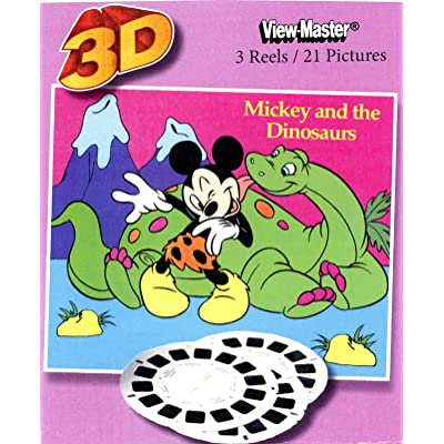 ViewMaster Disney's MICKEY MOUSE AND THE DINOSAURS- 3Reels, 21 3D images: Toys & Games