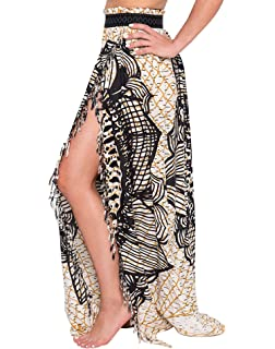 da25bd342 Bulawoo Women's Bikini Sarong Sexy Swimwear Cover Up Sheer Wrap Maxi Beach  Skirt