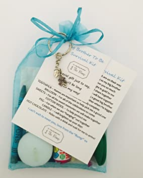 New Big Brother To Be Survival Gift Kit Card From QuotThe Baby Bumpquot
