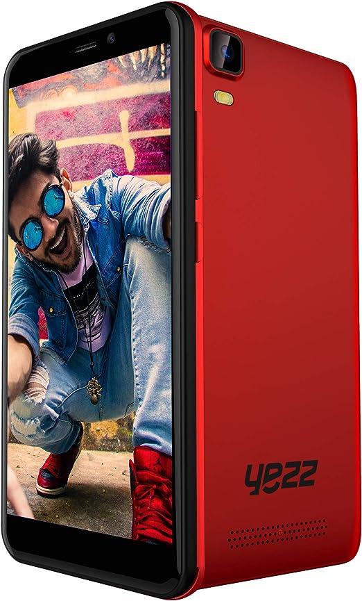 YEZZ Liv 1 Black/Red - Smartphone Desbloqueado - 16GB + 1GB ...
