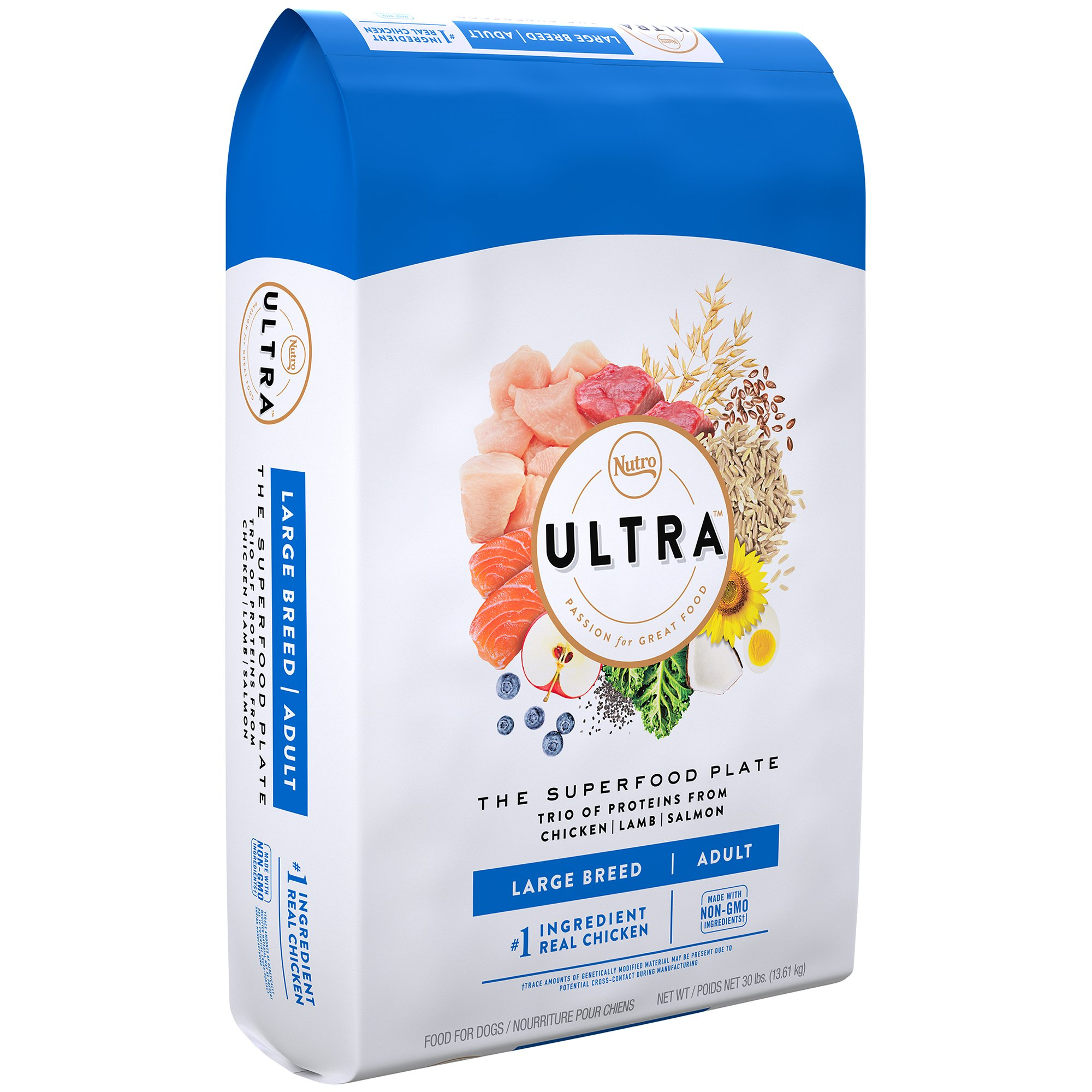 NUTRO ULTRA Large Breed Adult Dry Dog Food 30 Pounds | eBay