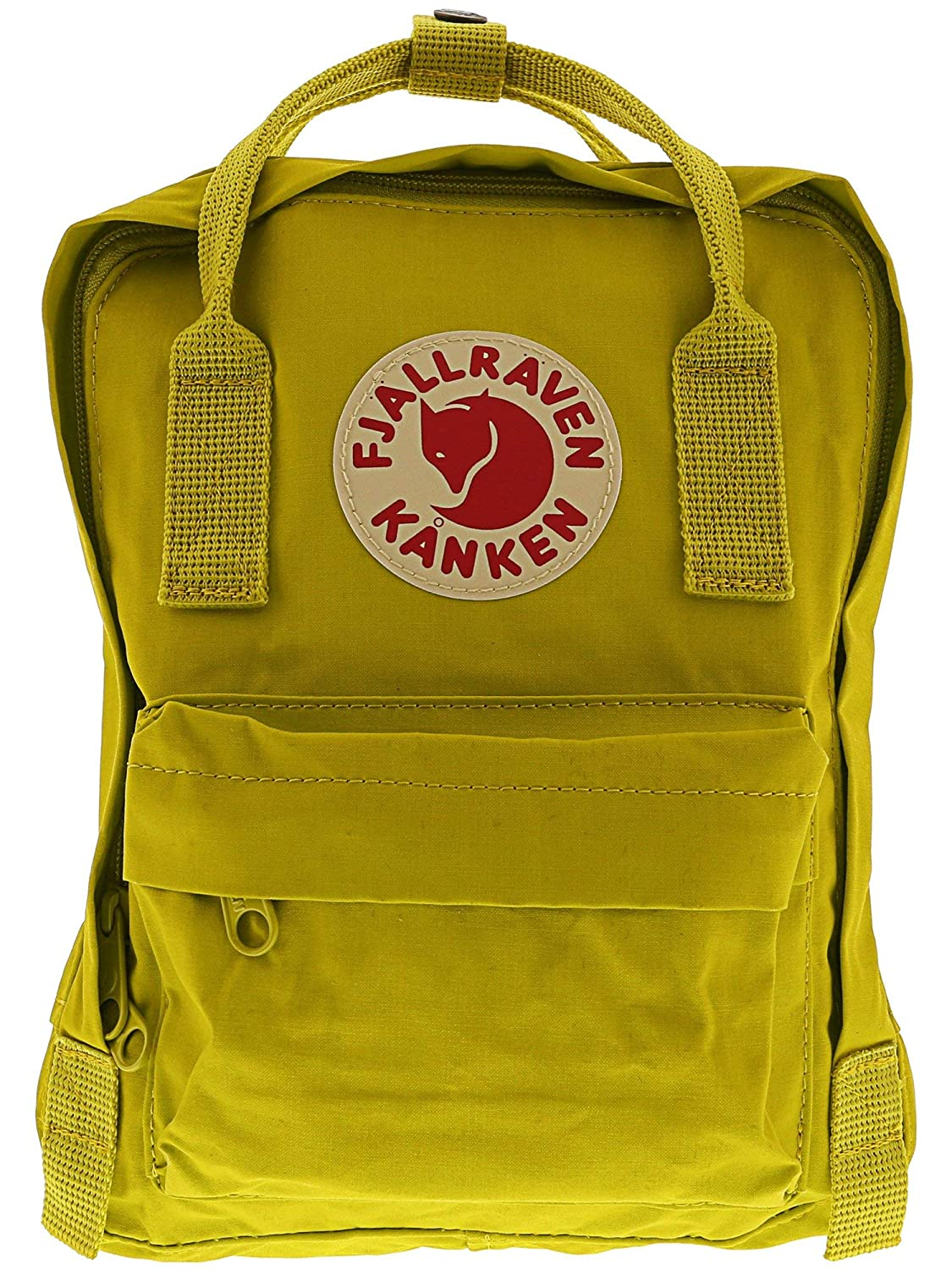 Fjallraven Kanken Mini Daypack, Forest Green/Ox Red F23561