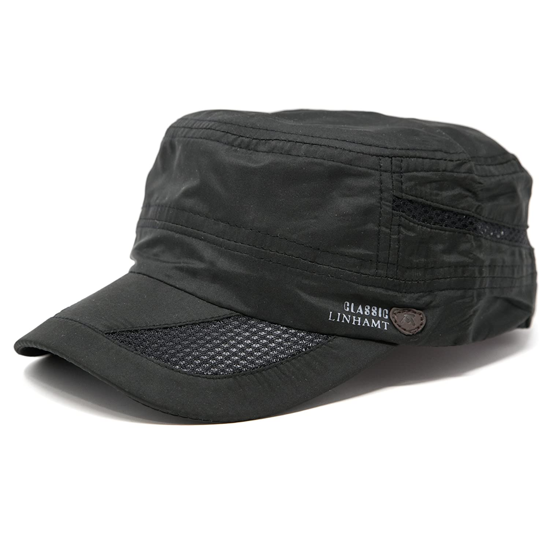 FashionTS Men's Summer Military Cadet Cap Baseball Hat