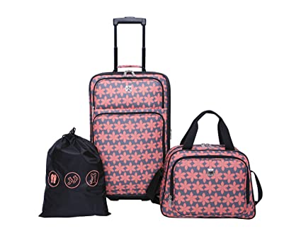 a5d1fb176c24 Image Unavailable. Image not available for. Color  Skyline 3pc Softside Luggage  Set ...