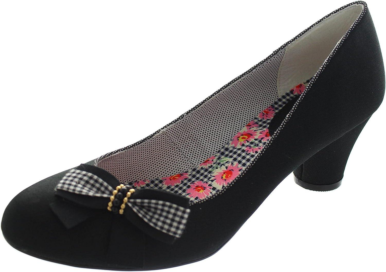 TALLA 36 EU. Ruby Shoo Lilly Mujer Zapatos Negro