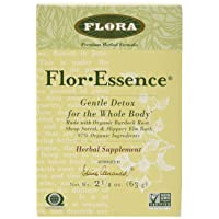 Flor Essence Detox Dry Tea Blend - Gentle Daily Herbal Cleanse - All Natural 90%...