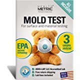 Mold Test Kit for Home - All-Inclusive DIY Detection Kit for Visual Mold and Mildew incl. Black Mold Spores | EPA…