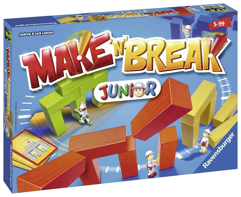 22009 Juego 'n' Mesa Junior De Break Ravensburger Para Niños Make 0ONym8vnwP