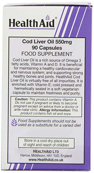 Cod liver oil and pregnancy