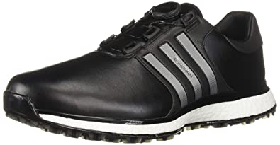 0687c5433d5c7 adidas Men s TOUR360 XT Spikeless BOA Golf Shoe core Black Iron Silver  Metallic