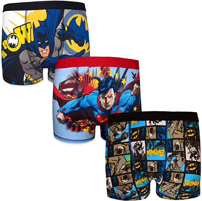Batman DC Comics - Pack de 3 Calzoncillos Oficiales de Estilo ...