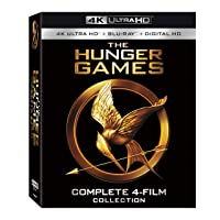 The Hunger Games: Complete 4-Film Collection 4k+Bluray+Digital