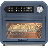 Maxi-Matic Programmable Air Fryer Convection Countertop Oven, 8 Menu Settings, Temperature + Timer Controls, Bake, Toast, Bro