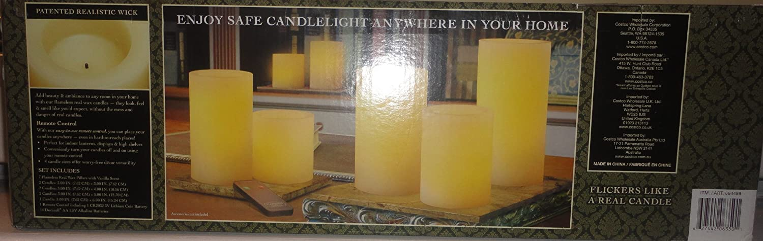Flameless Candles Costco Awesome Amazon Flameless LED Candles 60PK Remote Controlled Realistic