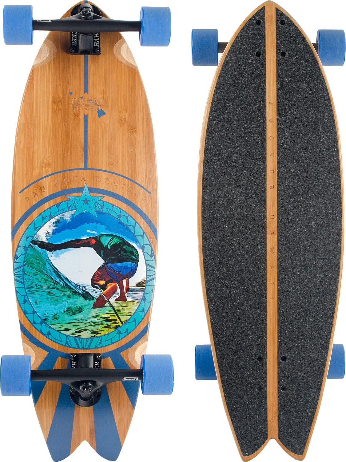 JUCKER HAWAII Skatesurfer® Carving Skateboard PAU Hana