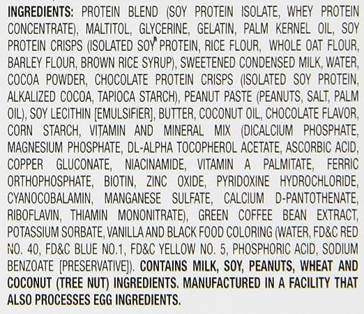 Hydroxycut Lean Protein Bars, Chocolate Fudge, 5 Count - 1.7oz Bars: Amazon.es: Salud y cuidado personal