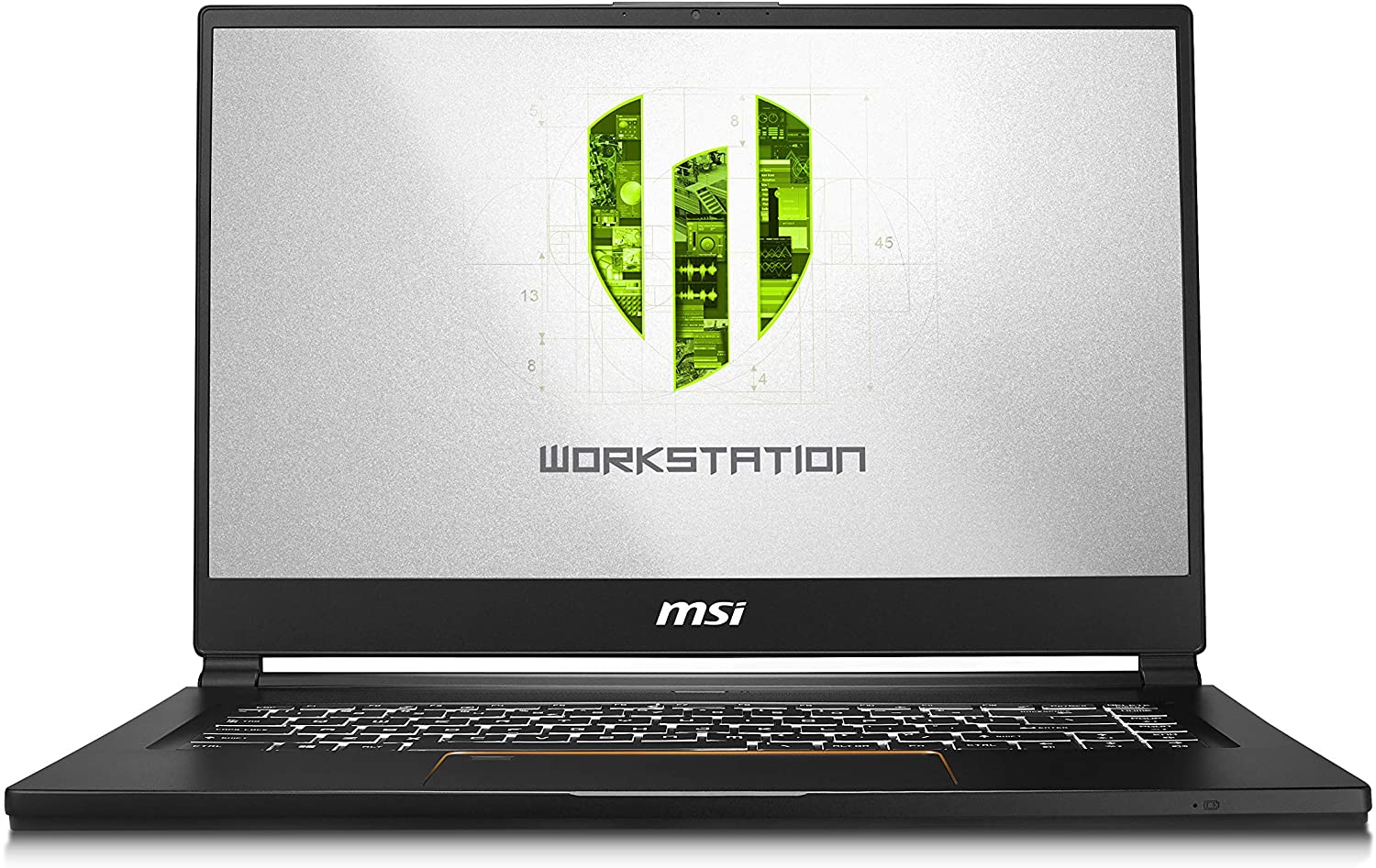 "MSI WS65 9TL-686 15.6"" FHD Thin and Light Mobile Workstation Intel Core i7-9750H Quadro RTX 4000 32GB 512G NVMe SSD Win10 Pro TPM2.0 TB3 Fingerprint"