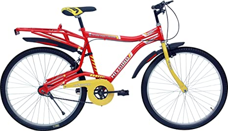 1e82596e213 Buy Hi-Bird Adventure 26T Red Mountain Bike Cycle Online at Low Prices in  India - Amazon.in