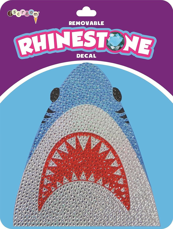 6 Vinyl Cling Decal The Mines Press Inc. iscream Sparkly Rhinestone Shark Attack