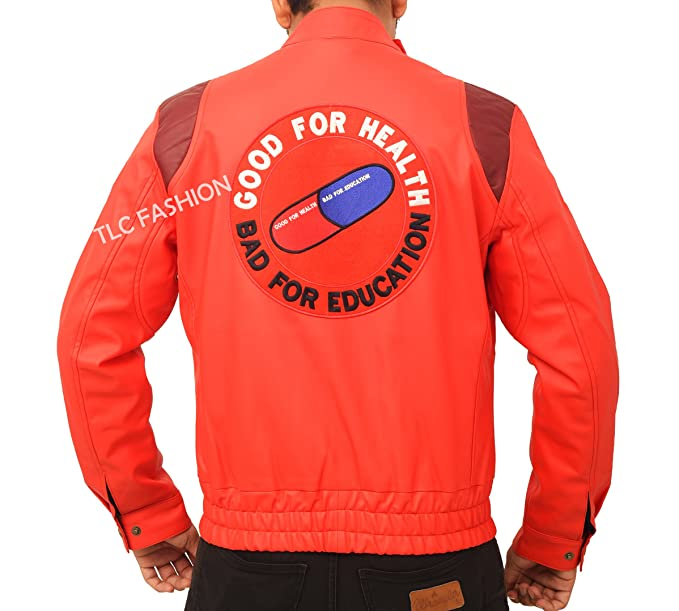 b4b0f582a8 Image Unavailable. Image not available for. Color  Red Akira Leather Jacket  for Mens