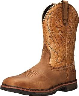 9821638cc46 Amazon.com: ARIAT Sierra Steel Toe Work Boot Aged Bark Size 12 EE ...