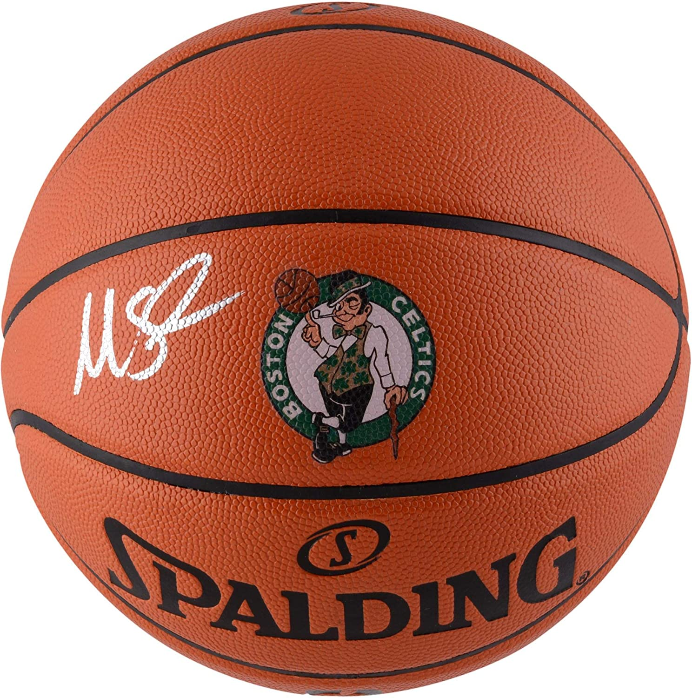 Marcus Smart Boston Celtics Autographed Spalding Logo Basketball - Fanatics Authentic Certified - Autographed Basketballs