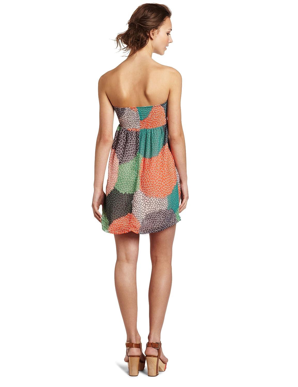 Roxy Juniors Flowy Nights Tube Dress