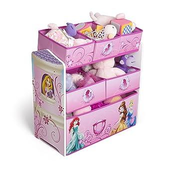 Disney Princess Multi Bin Toy Organizer Pink By Usa Toys Games