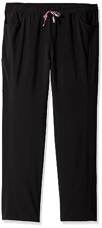 8b2f64f4578 HeartSoul Scrubs Women's Tall-Plus-Size Love Potion Low-Rise Drawstring Pant ,