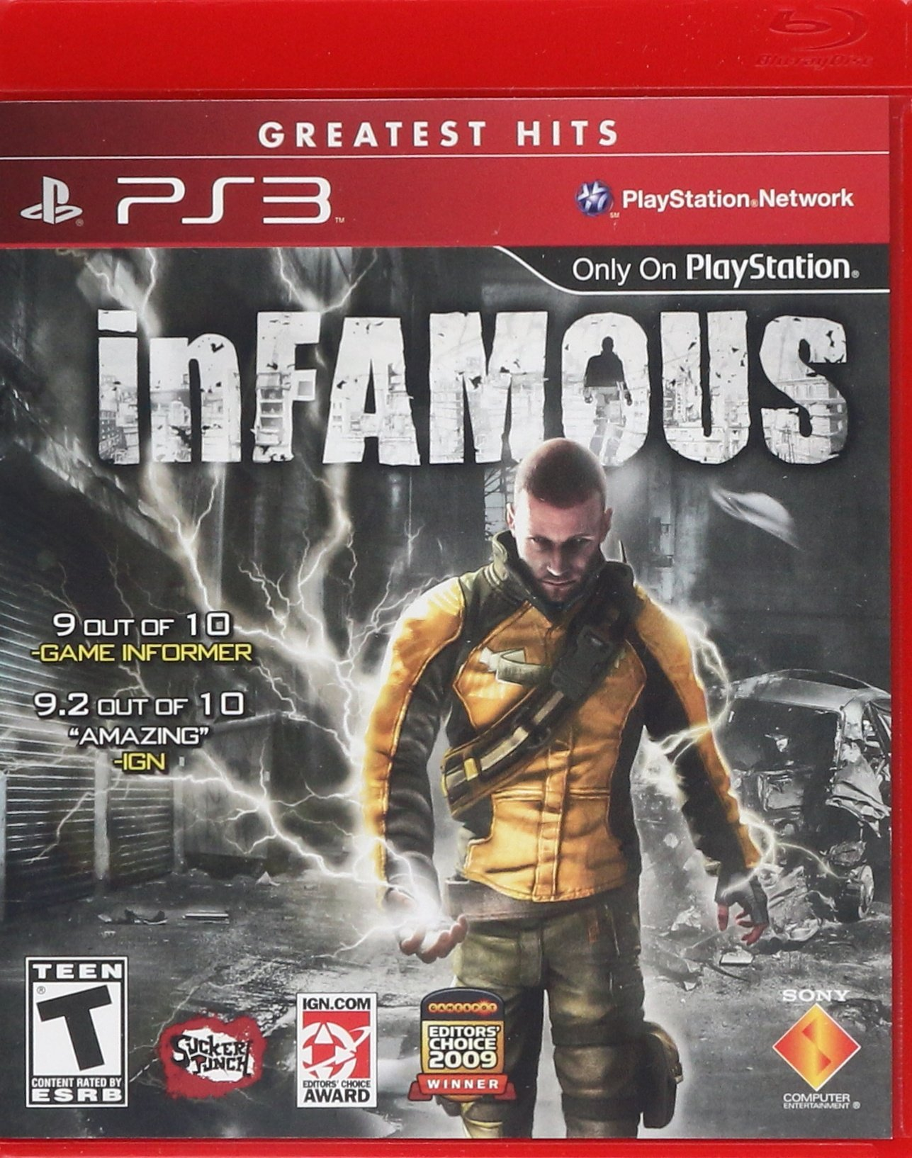 Amazon com: inFAMOUS - Playstation 3: Sony Computer Entertainme