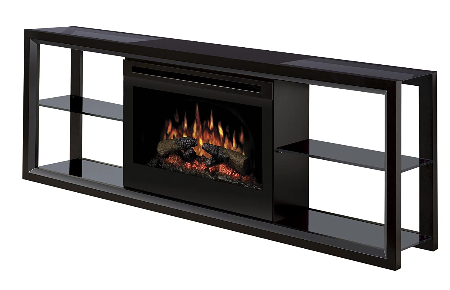 amazon com dimplex novara sap 300 b electric fireplace media