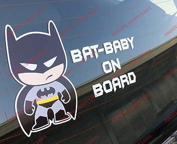 Aufkleber Star Wars Darth Vader Baby on Board für Auto Star Wars Batman