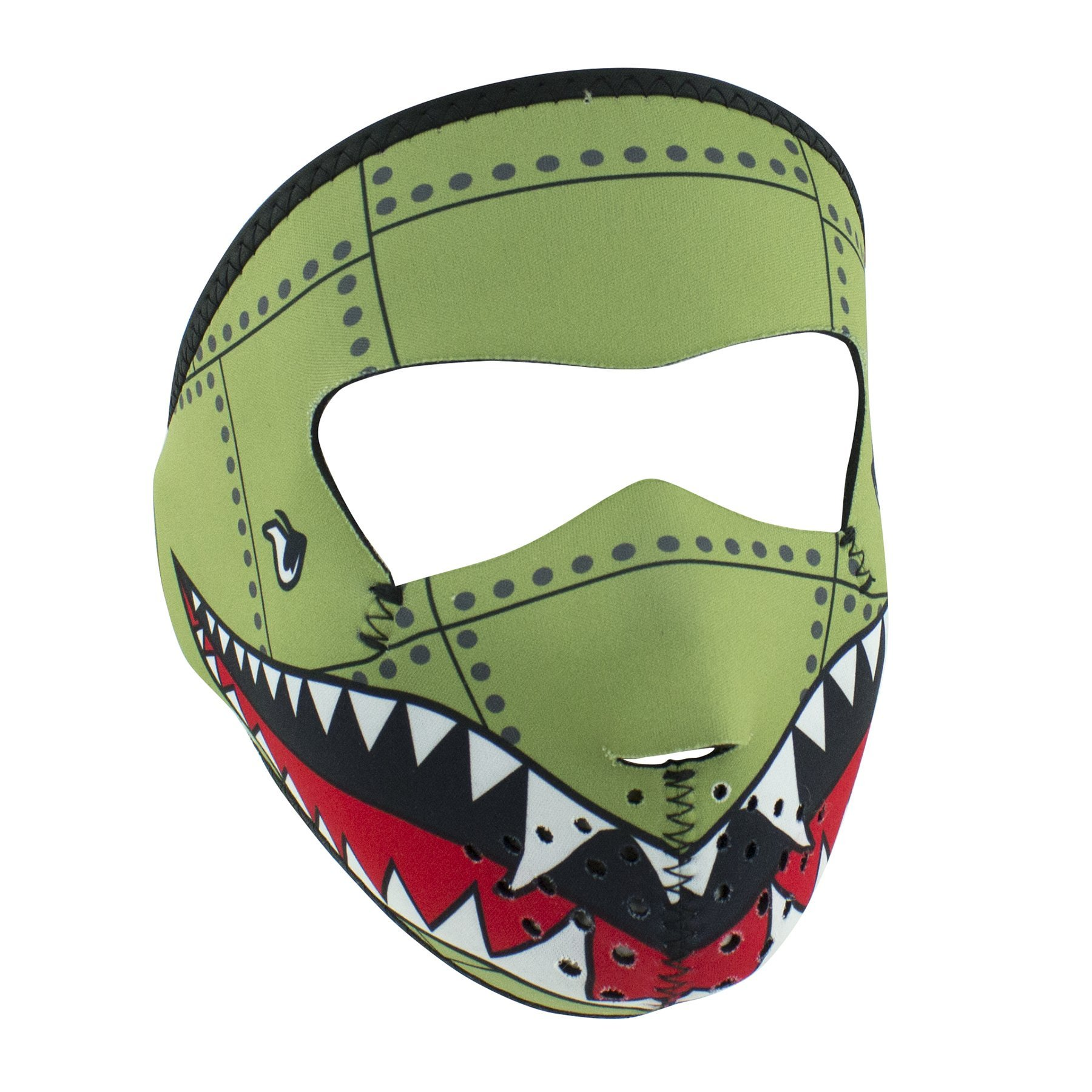 ZANheadgear WNFMS010 Neoprene Full Face Mask, Small, Bomber