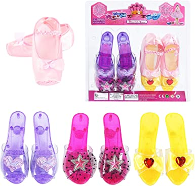 Fedio Girls Princess Dress up Shoes