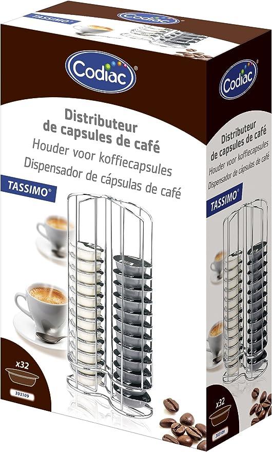 Codiac 303109 Tassimo - Dispensador de cápsulas para cafetera ...