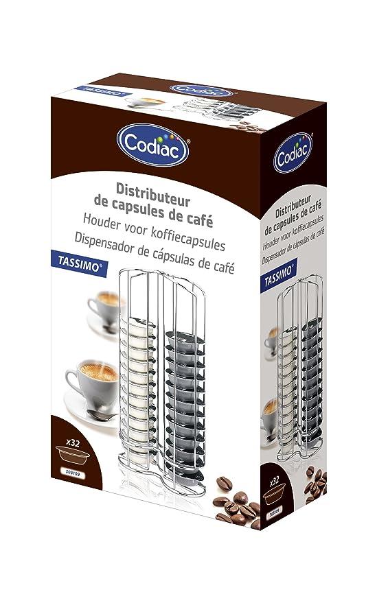 Codiac 303109 Tassimo - Dispensador de cápsulas para ...
