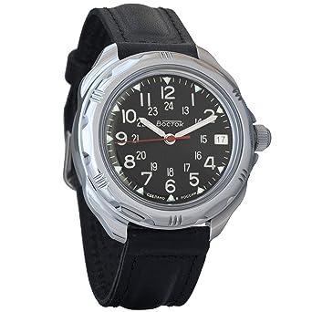 magasin discount prix imbattable sélectionner pour dernier Vostok komandirskie 2415 211783 Russe Militaire Montre Mécanique