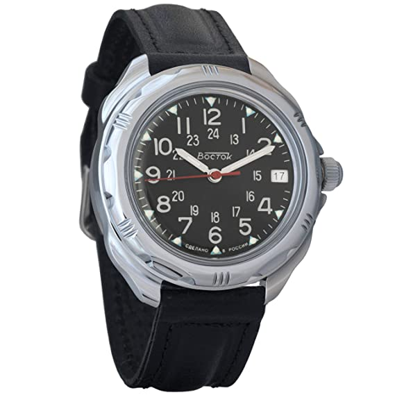 Vostok Komandirskie 2415 211783 Ruso Militar reloj mecánico: Amazon.es: Relojes